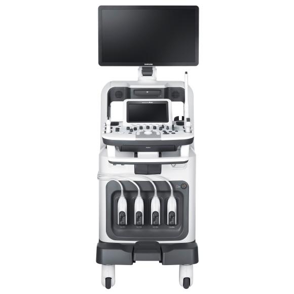 Sistema Ultrasonido ACCUVIX A30 vista frontal