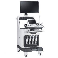 Sistema Ultrasonido ACCUVIX A30 vista izquierda
