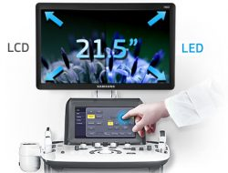 21.5-inch LED monitor and Touch Screen
